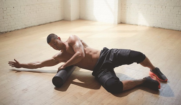 Chest Roll Exercise