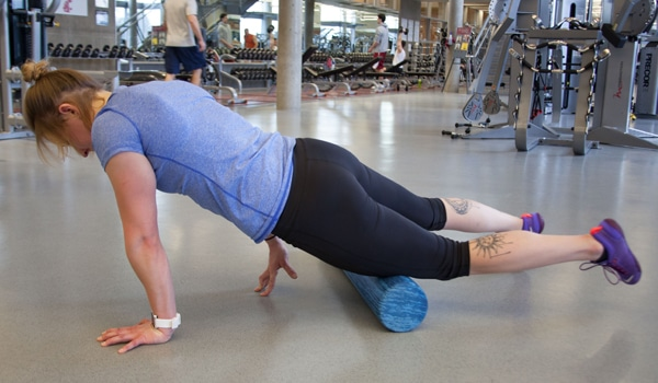 Quadriceps Roll Exercise
