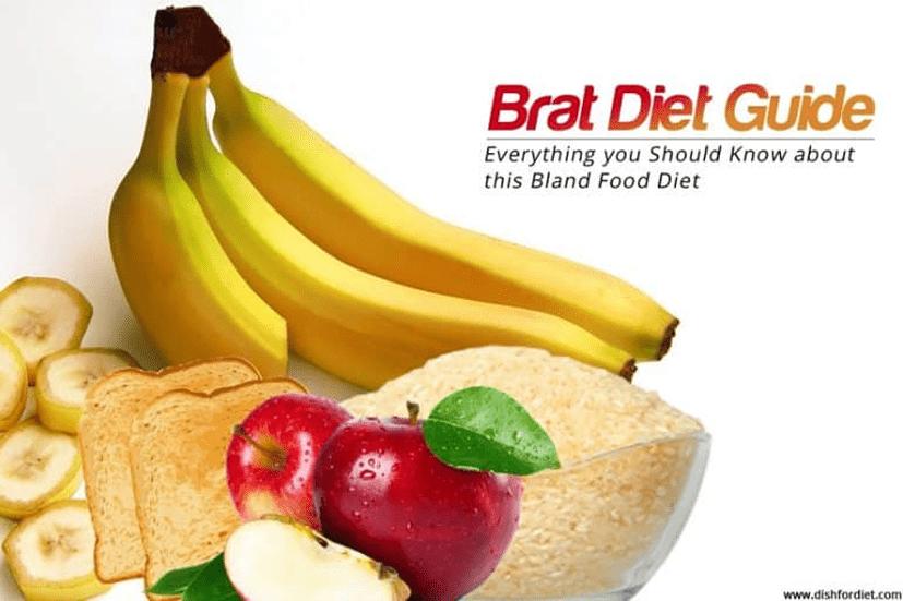 BRAT Diet for Nausea, Vomiting, or Diarrhea
