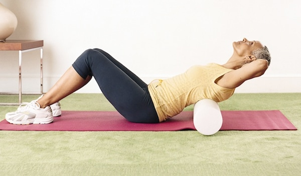 Lower Back Roll Exercise