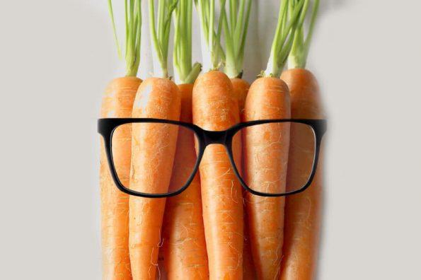 How Carotenoids Improve Eyesight