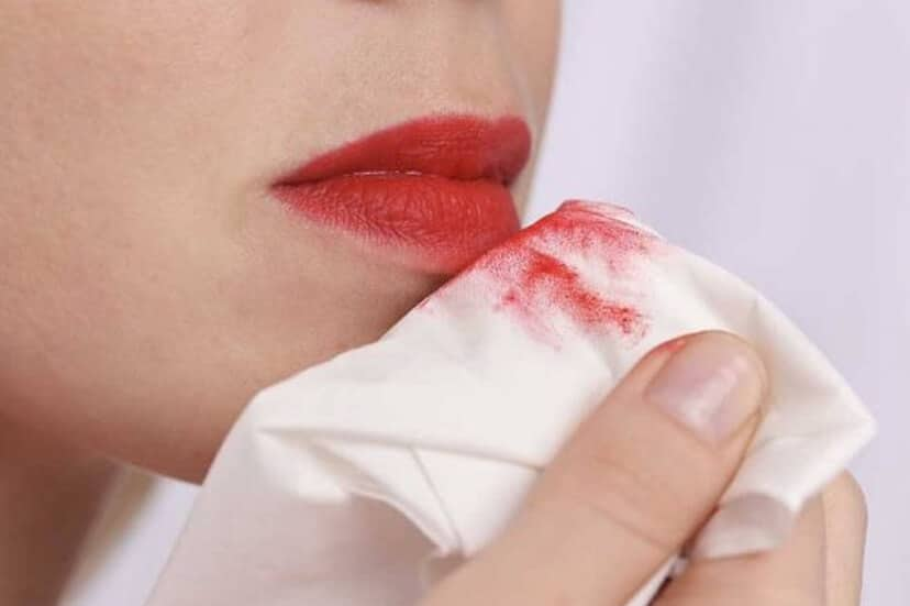 How To Remove Liquid Lipstick