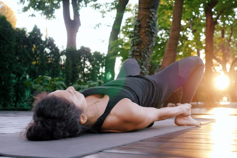 Bridge Pose Yoga for SI Joint Pain